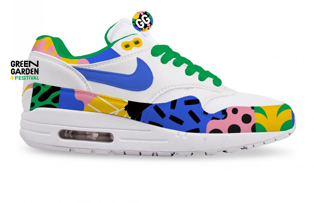 limited edition green garden nike air max 1